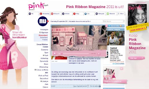 Pink Ribbon Magazine site