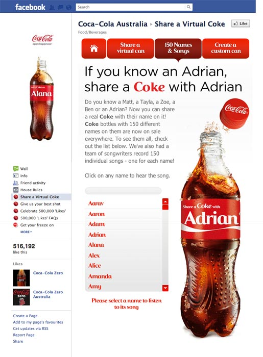 Share A Coke With Adrian