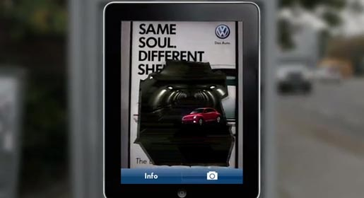 Volkswagen 2012 Beetle Augmented Reality