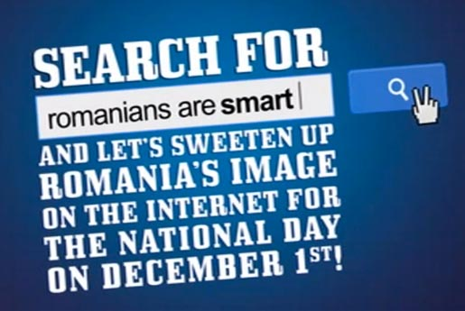 Search for Romanians Are Smart