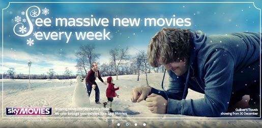 Sky Movies Christmas Offer