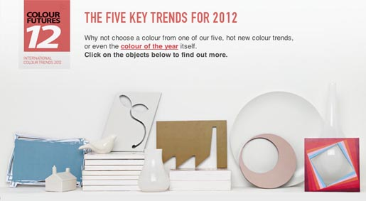 Own a Colour - Five Key Trends of 2012