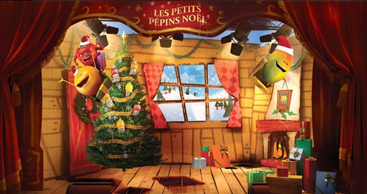 Oasis Les Petit Pepins Christmas Youtube channel