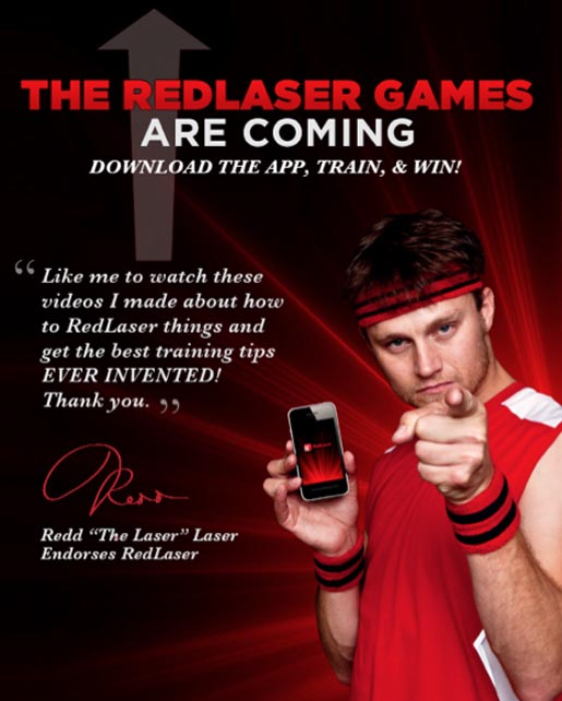 RedLaser Games Are Coming - Facebook image Redd the Laser Laser
