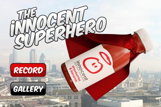 Innocent Superhero iPhone app
