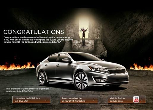 Kia One Epic Contest