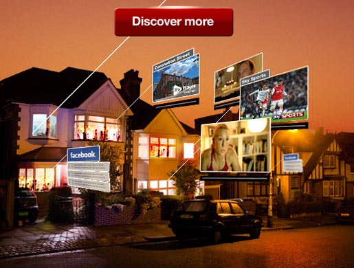 Virgin Media Discover More site