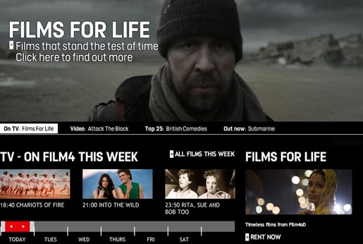 Film4 Films for Life Trailer on Film4 site