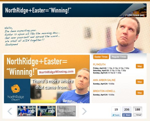 Northbridge + Easter Winning site