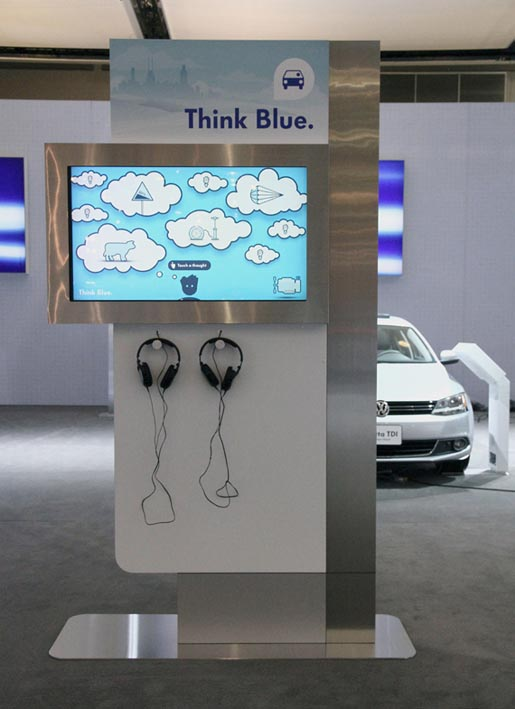 Volkswagen Think Blue tips