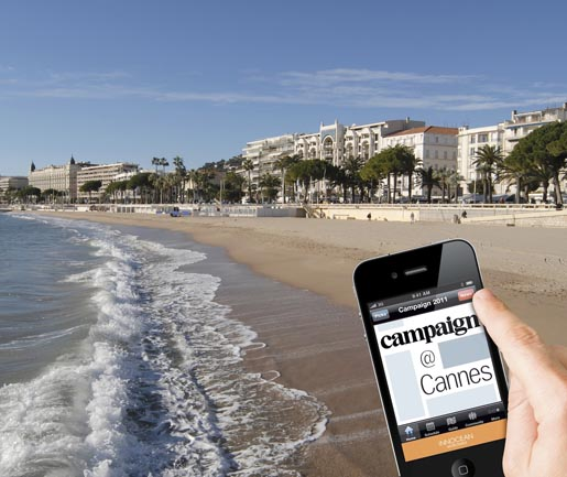 Campaign at Cannes app