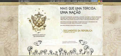 Republica Popular do Corinthians site