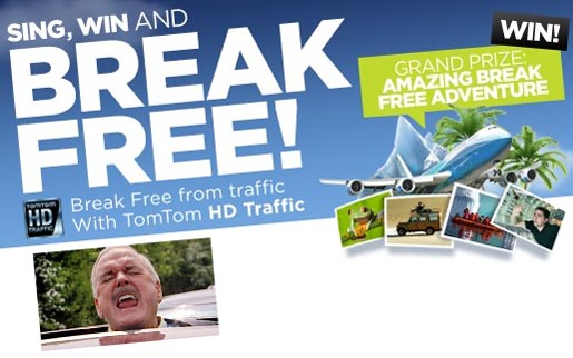 TomTom Break Free contest