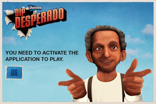 Doritos Dip Desperado Facebook game