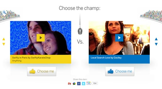 Google Demo Slam Choose the Champ