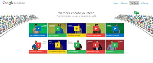 Google Demo Slam Tech