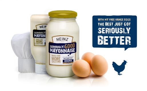 Heinz Seriously Good - Freerange Eggs Seriously Better
