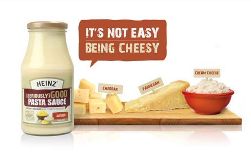 Heinz Seriously Good - Not Easy Being Cheesy