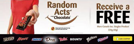 Mars Canada Random Acts of Kindness