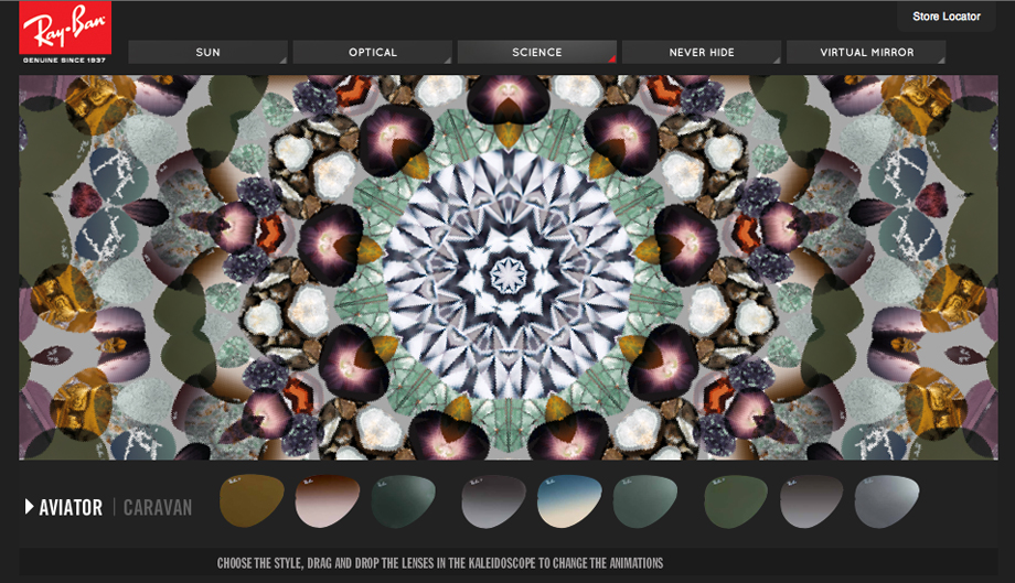 ray ban website  Ray Ban Clip In Kaleidoscope - The Inspiration Room
