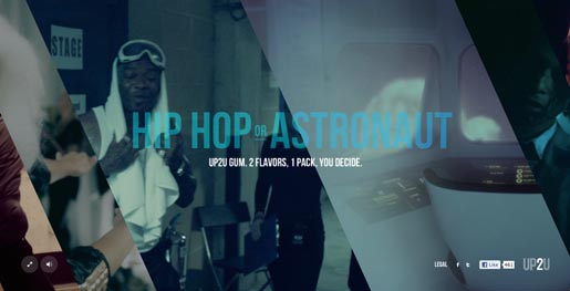 Mentos Up2U Hip Hop or Astronaut