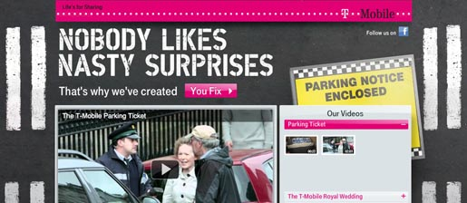 T-Mobile Parking Ticket Youtube