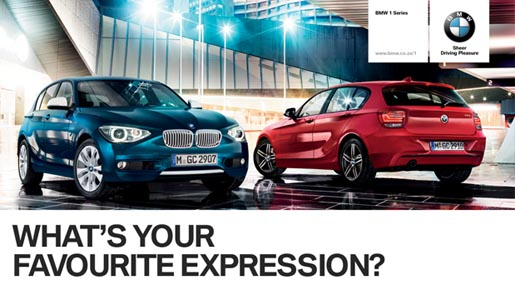 BMW What' Your Favourite Expression