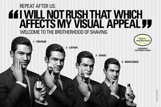 I Will Not Rush Brotherhood of Shaving