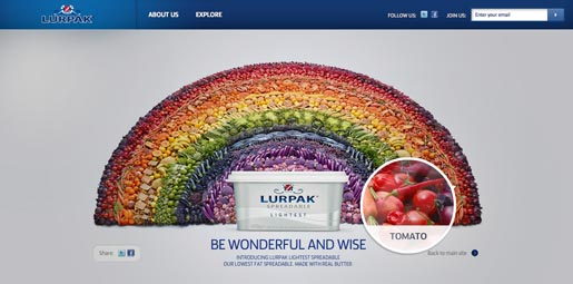 Lurpak Wonderful and Wise Explore The Rainbow