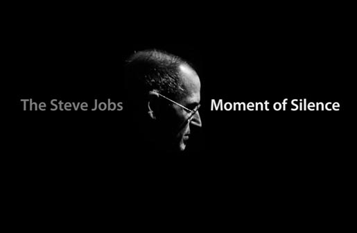 Steve Jobs Moment of Silence