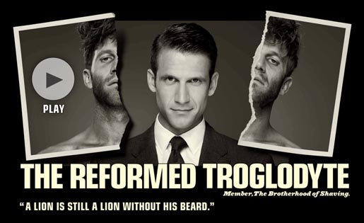 The Reformed Troglodyte Brotherhood of Shaving