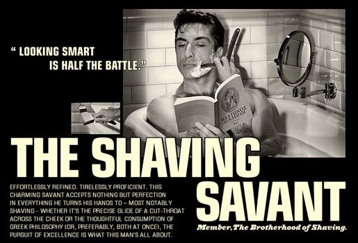 The Shaving Savant Brotherhood of Shaving