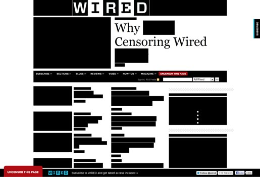 Wired SOPA PIPA Blackout protest