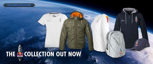 Red Bull Stratos Merchandise