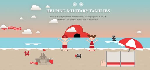 Helping military families