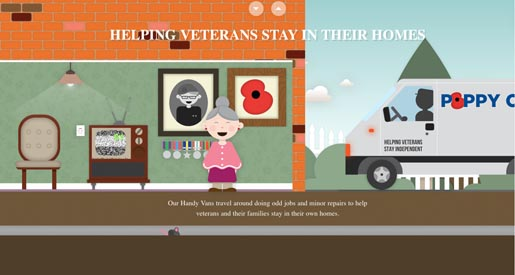Helping the veterans stay