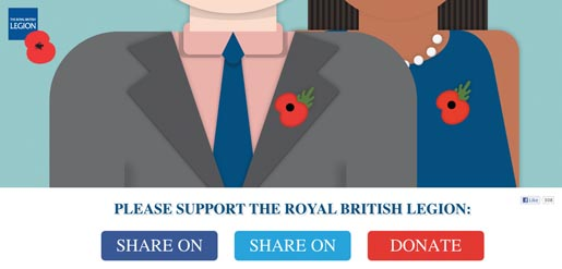 Please support the Royal British Legion