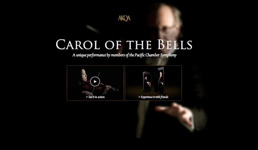 AKQA Carol of the Bells