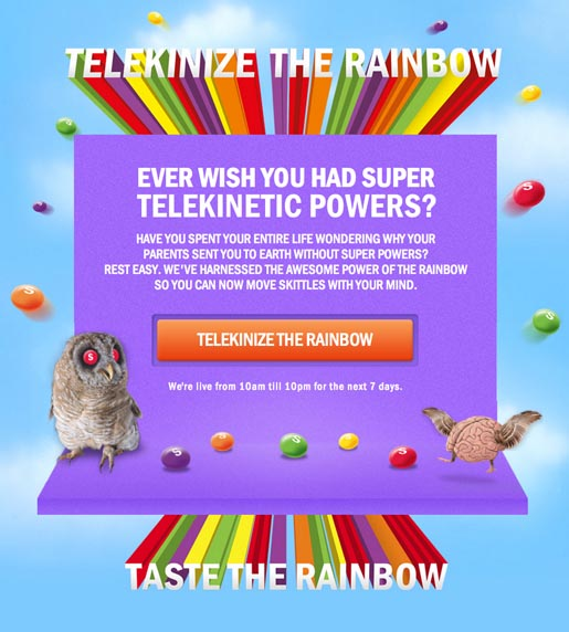 Telekinize the Rainbow