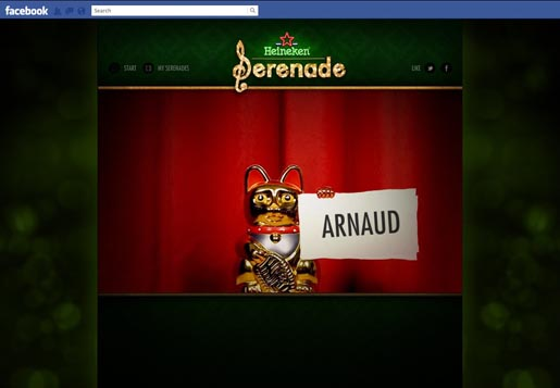 Heineken Serenade Your Date - Arnaud