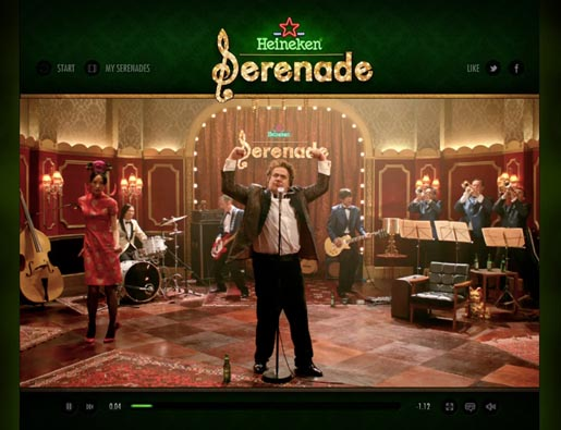 Heineken Serenade Your Date on Facebook - Band