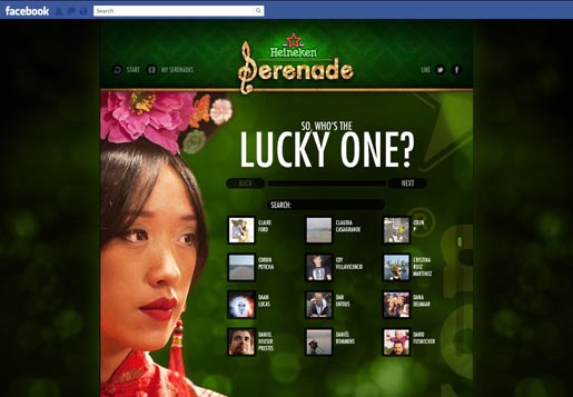Heineken Serenade Your Date on Facebook - Who's The Lucky One?