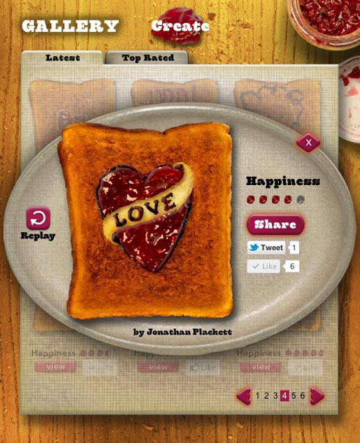 Warburtons Toast Card Love