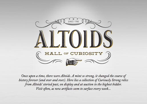 Altoids Hall of Curiosity