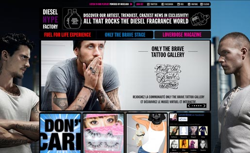 Only The Brave Tattoo site