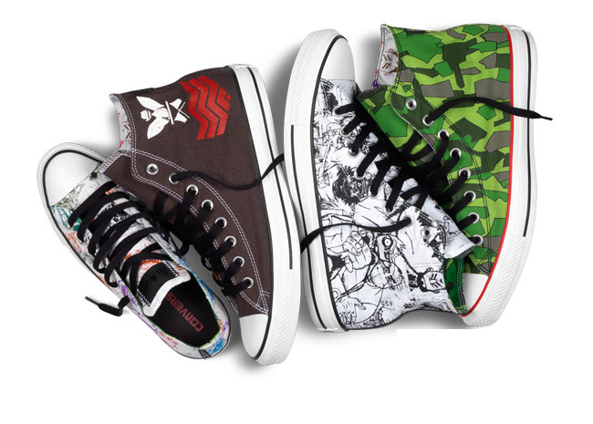 Converse DoYaThing with Gorillaz, Andre 3000 & James Murphy