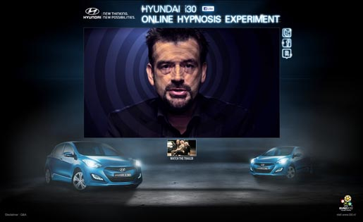 Hyundai i30 Hypnosis Experiment with Peter Powers