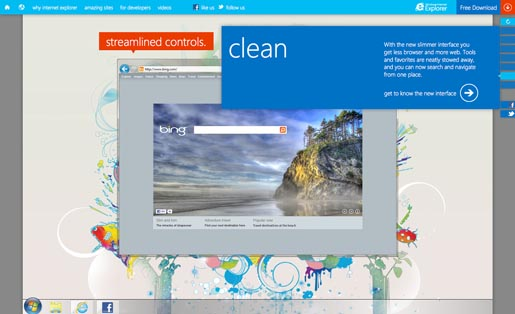 Internet Explorer Clean