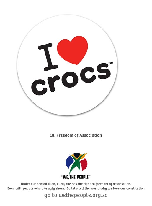 We The People I Heart Crocs