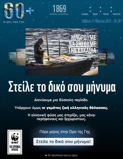 WWF Greece We Can Save Facebook App